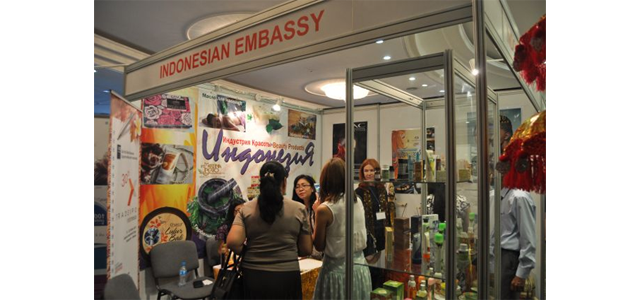 "Indonesian Embassy in Tashkent promotes Indonesian Beauty products in ""Beauty Uzbekistan 2015"""