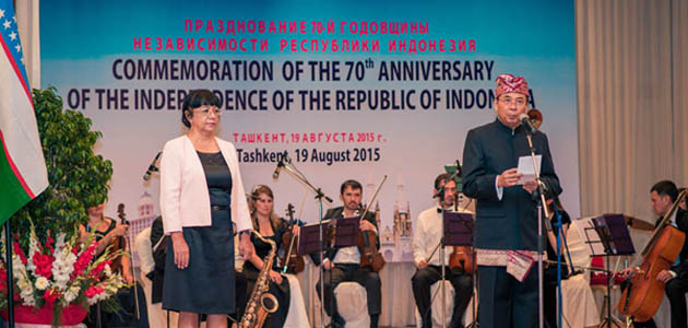 Indonesian Embassy commemorates the 70th anniversary of the Independence Day